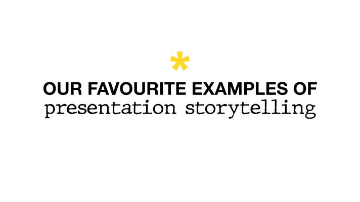 presentation storytelling examples